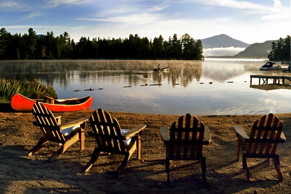Adirondack Chairs, Lake Placid and Whiteface