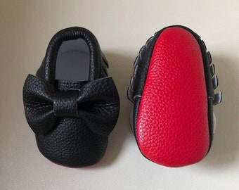 7f3f78dc4f5 HIGH QUALITY baby bow red bottom