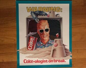 Coca cola poster | Etsy