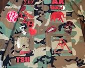 DELTA SIGMA THETA Camouflage Patchwork Jacket