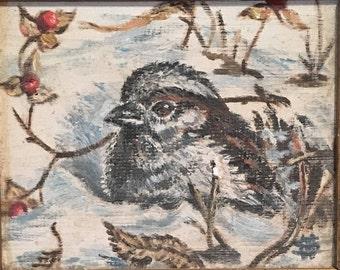 Shivering Snowbird