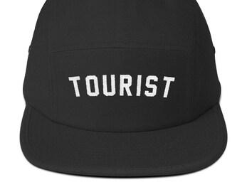 58078c00d8265 TOURIST - Embroidered Five Panel Cap