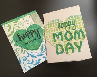 Handmade Mother's Day Cards (Set of 2)