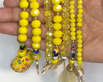 Semanario bracelet   beaded bracelet   7 bracelet