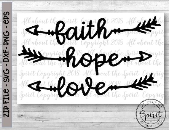 Download Faith Hope Love Snowman Svg