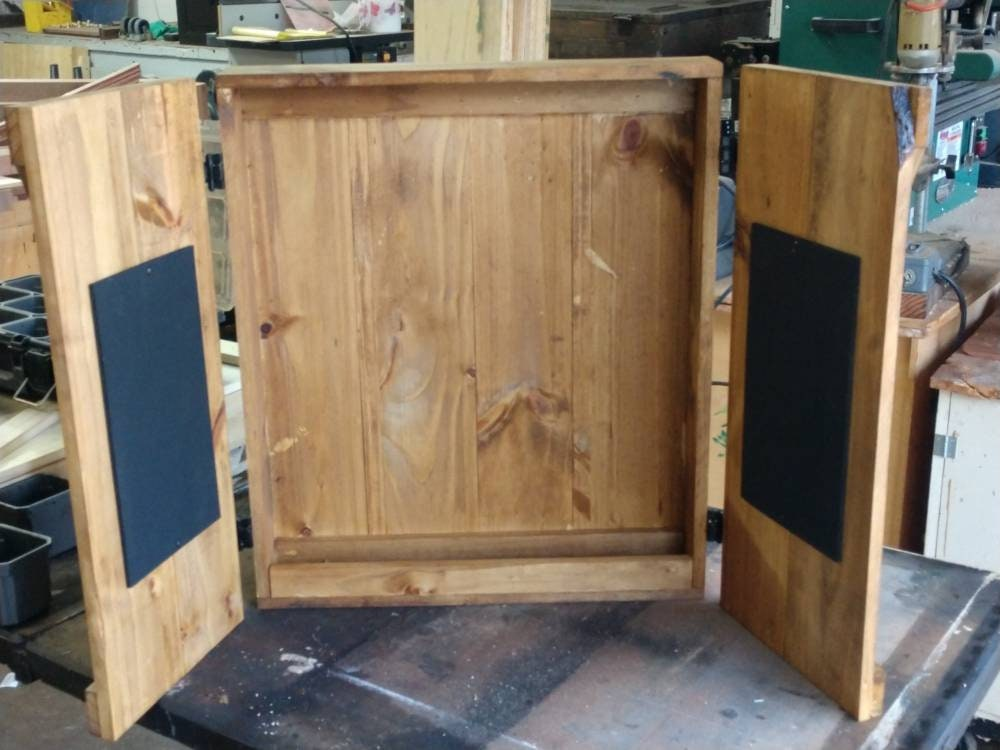Rustic Dartboard Cabinet Indoor, Outdoor Dartboard Cabinet Cover