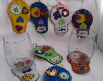 5 de Mayo cup coasters