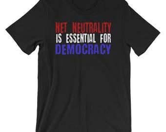 Net Neutrality Zipper Pouch Buffering Craftivism