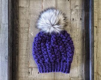 Iris purple hat   Deep purple hat   Spring couture   Iris purple   Purple iris   Spring iris   Purple hat   Spring hat   Spring