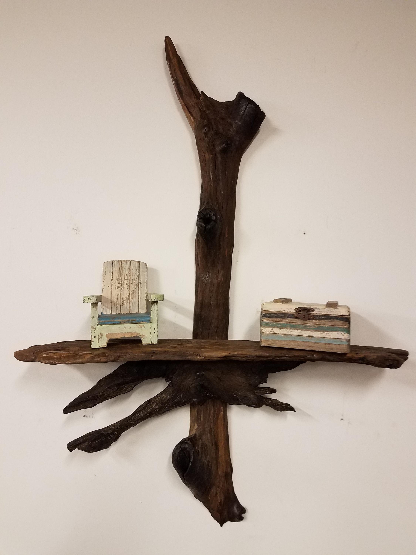 tag re murale bois flott etsy. Black Bedroom Furniture Sets. Home Design Ideas