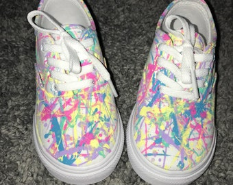 Paint Splatter Shoes - Made to Order