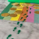 Tiny Leprechaun Footprint Stickers - Perfect for a Leprechaun Trap