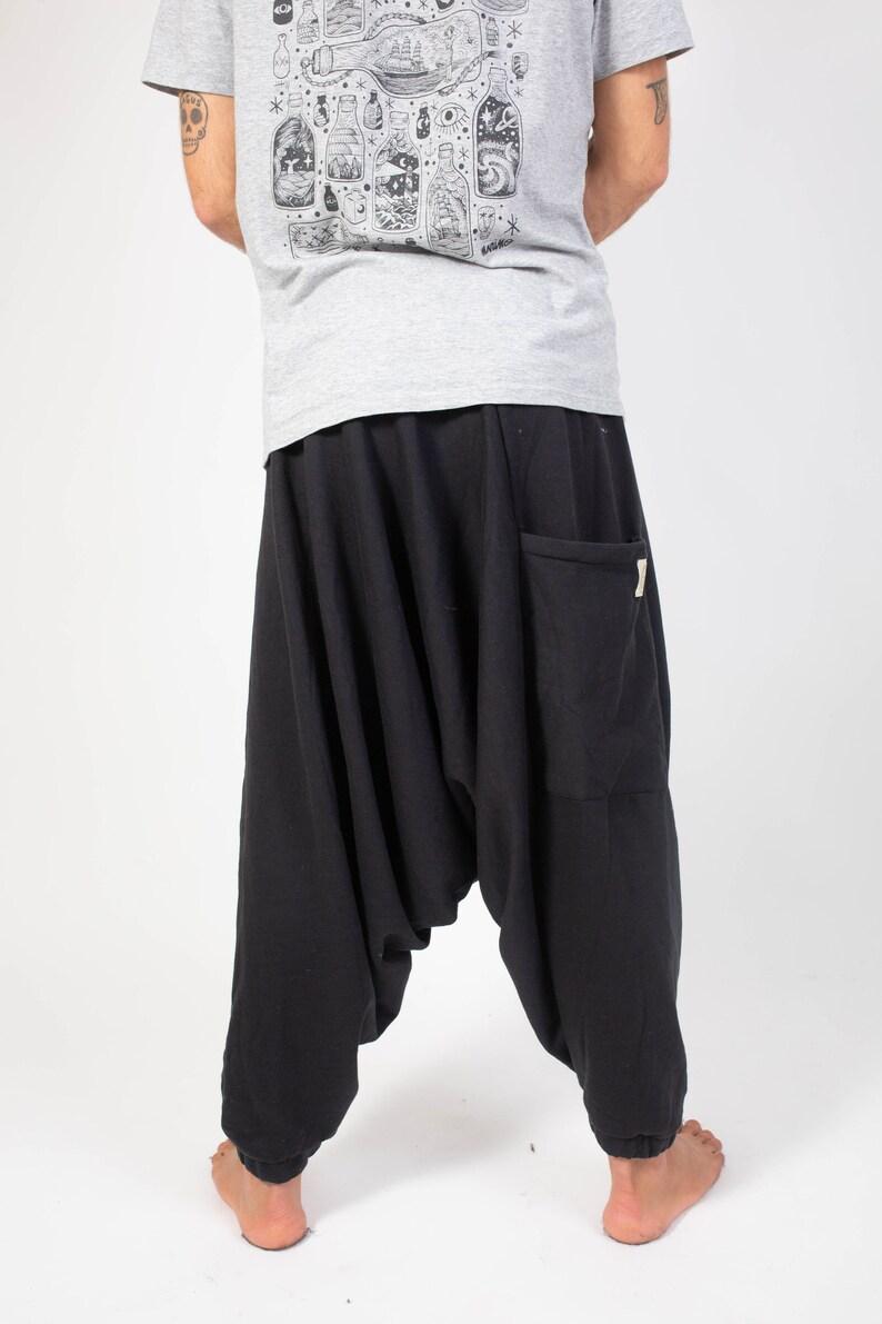 unisex clothing baggy pants alternative pants hippie style warm and confortable handmade symetrical pants boho style festival pants