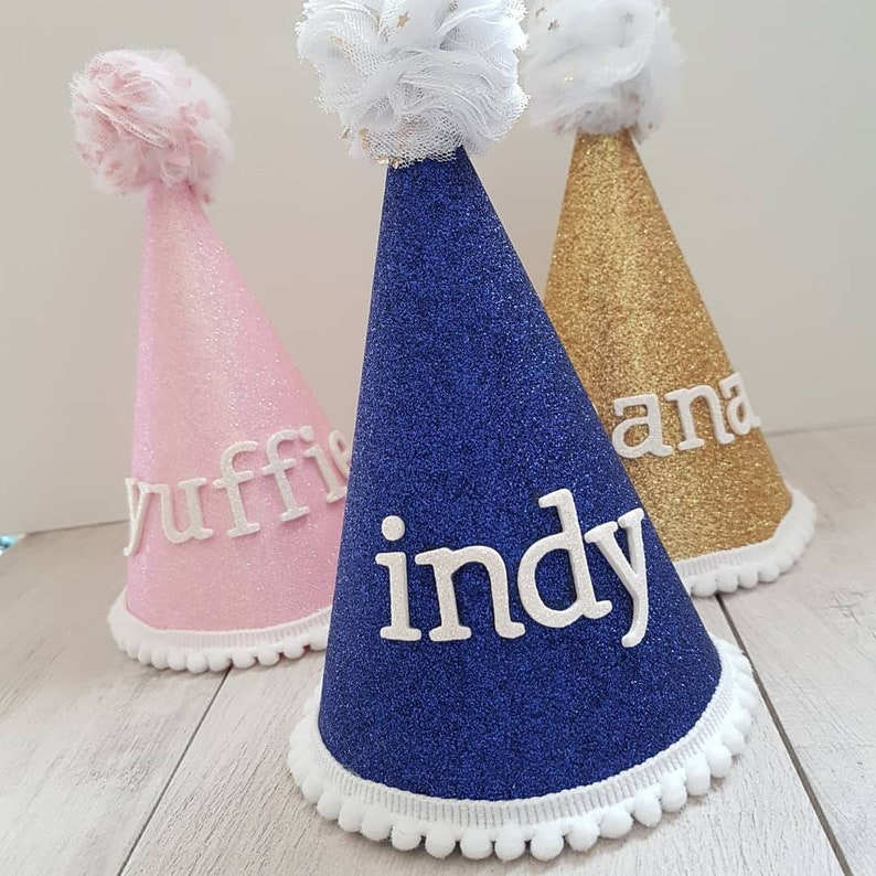 Custom Dog Party Hat for Barkday Pawties!