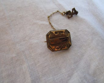 1934 Antique Flanders G S School Pinback