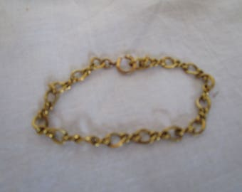 Antique LESTAGE 12k Gold Filled Charm Bracelet