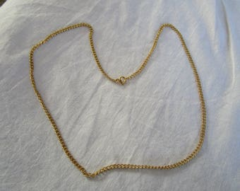 23 inch Strong Thick Gold Tone Chain Necklace