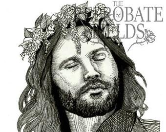 Jim Morrison (The Doors) - poster, ART PRINT