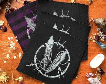 Crystal Magic - Hand Printed Patch