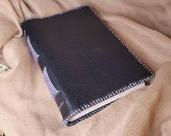 Black Leather Handbound Journal