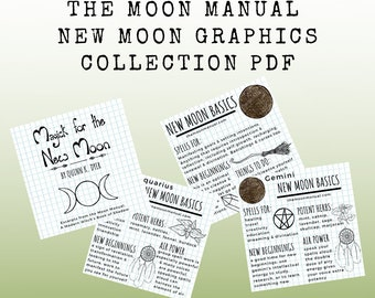 The Moon Manual New Moon Graphics Collections PDF
