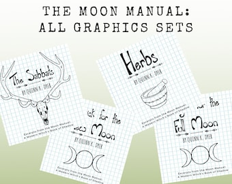 Moon Manual Graphics Collections PDFs — ALL 4