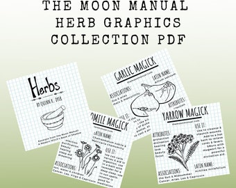 The Moon Manual Herb Graphics Collection PDF