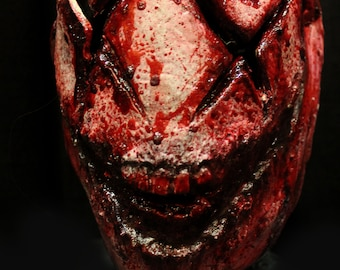 Have a bad day flesh Haunted House Actor Halloween Mask