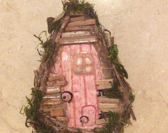 Handcreated handcrafted Miniature fairy garden door