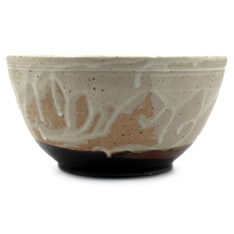 Earthy Tones II Hand Thrown Serving Bowl