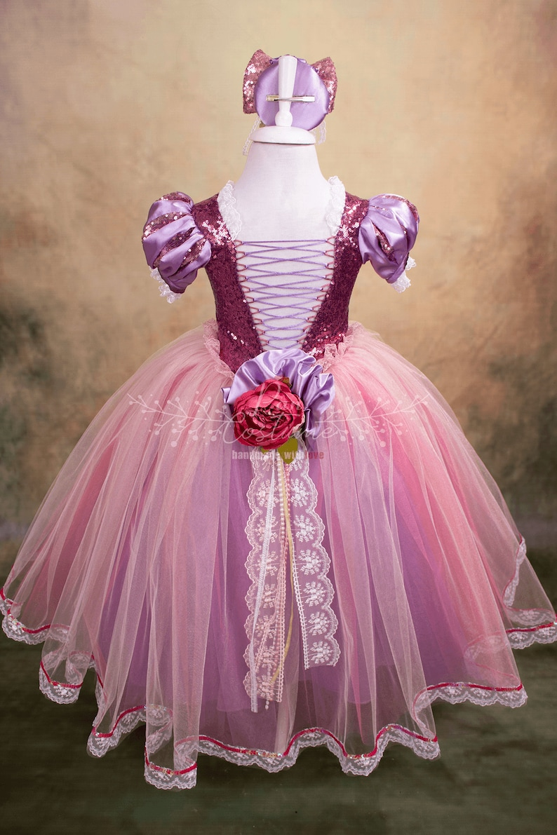 Rapunzel Costume Rapunzel Dress for Birthday Party Gown