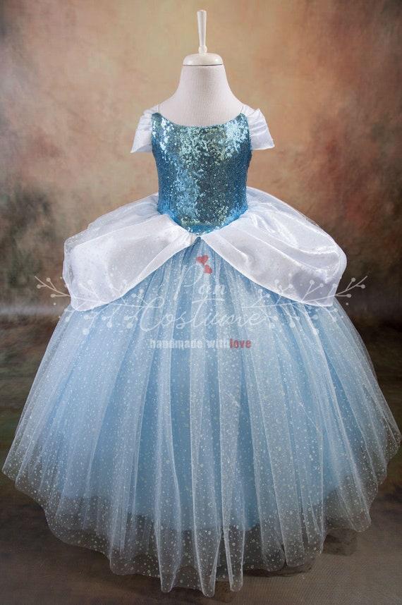 Cinderella Costume Cinderella Birthday Dress Party Gown