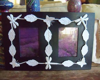 Dragonfly & Butterfly Picture Frame