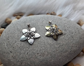 Celtic Star Flower | Chainmaille Pendant