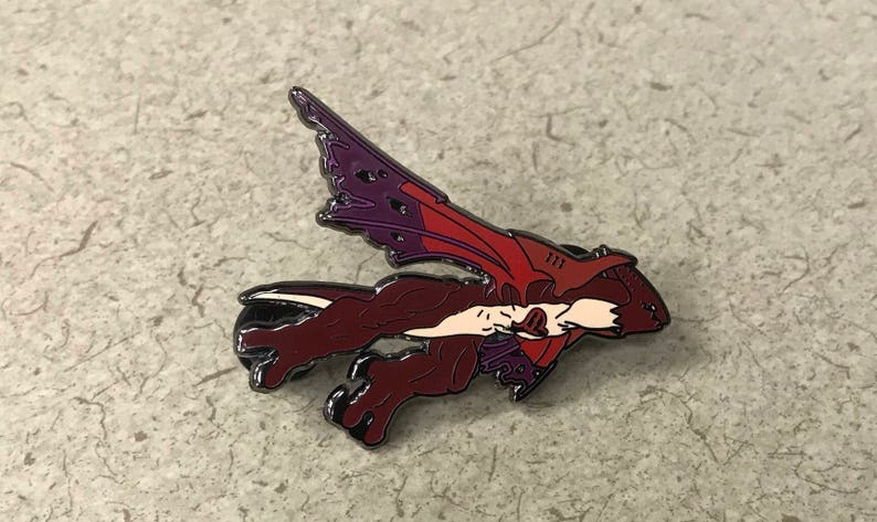 5815a2df7d793 Wyvern Heartless Kingdom Hearts Pin | Etsy