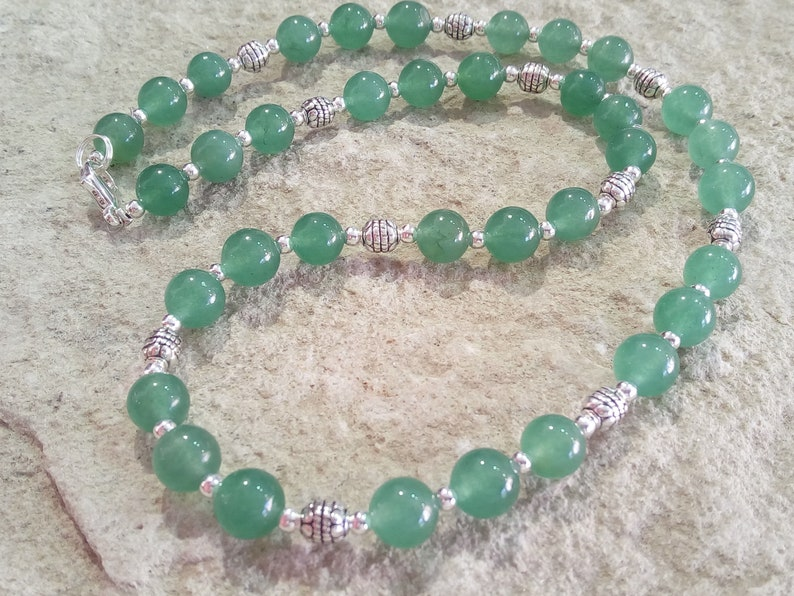 Aventurine chain 8 mm different Lengths selectable #007