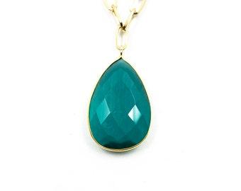 Greendrop necklace