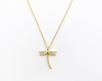 Dragon-fly necklace