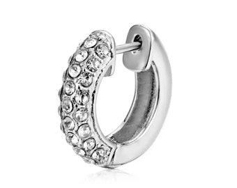 New York round earring