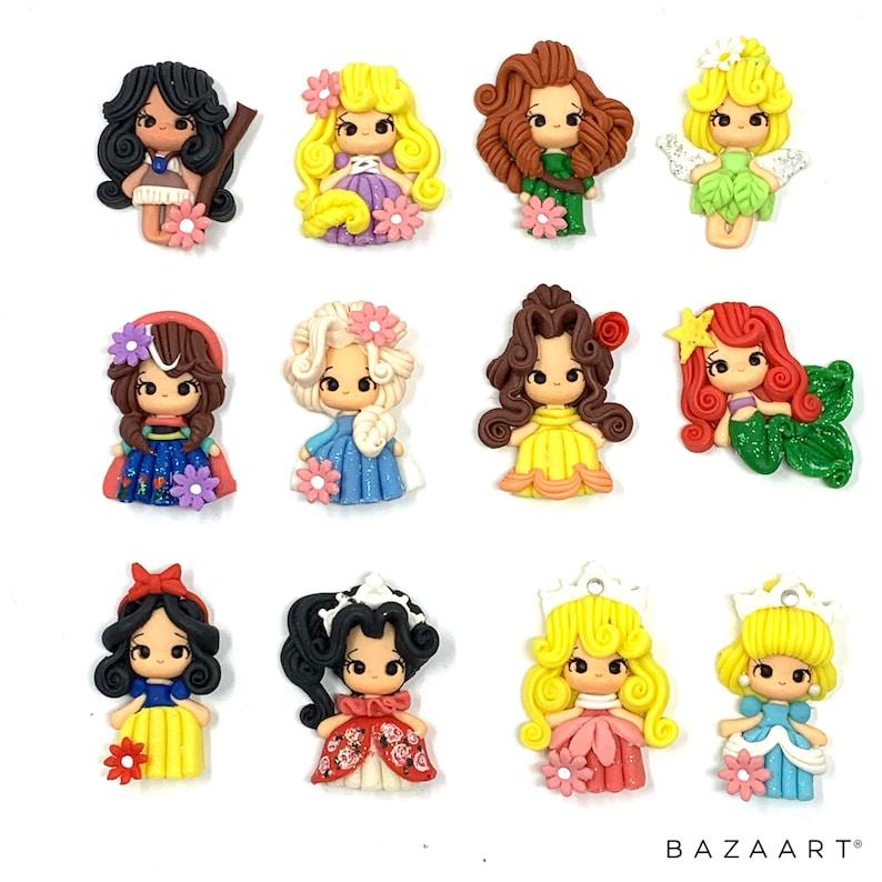Disney Princess Clay Dolls