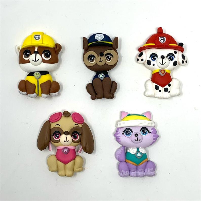 Paw Patrol Clay Dolls