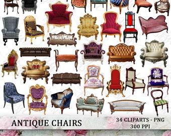 3d, mann sitzen, auf, stuhl, und, ausrufezeichen Clipart | k24199800 |  Fotosearch