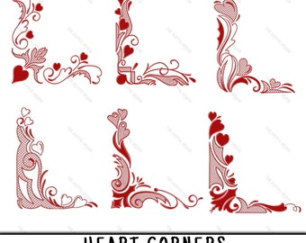 Heart Border Clipart Etsy,Traditional Latest Mangalsutra Designs Only Gold
