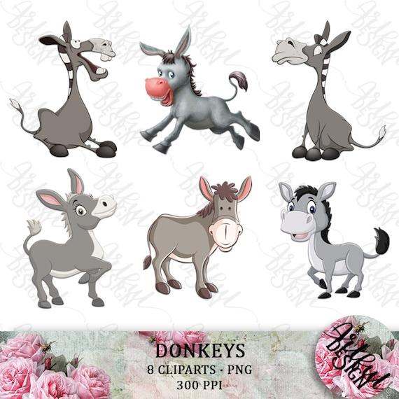 Farm Donkeys Stock Illustrations – 177 Farm Donkeys Stock Illustrations,  Vectors & Clipart - Dreamstime