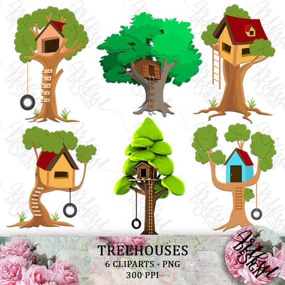 free cartoon house pictures   tree house clip art   Magic tree house books,  Magic treehouse, Tree house
