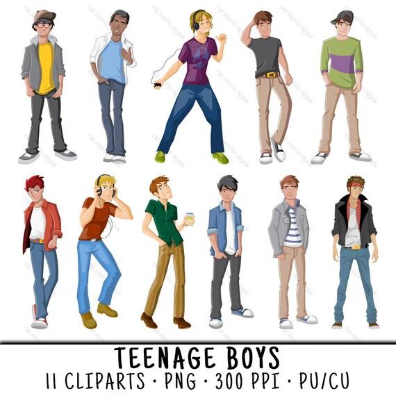 Art boy teen
