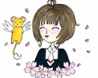 Sakura - Drawing original Artwork