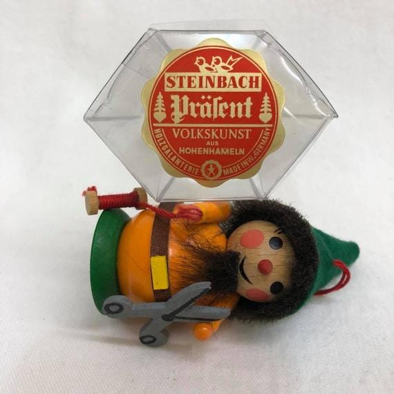 Vintage Steinbach Ornament - Seamster