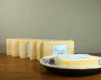Vanilla Pine Solid Lotion Bar -- Beeswax and Shea Butter Lotion