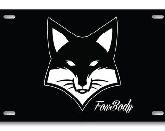 foxbody mustang etsy 69 Mustang Mach 1 foxbody 5 ford mustang aluminum vehicle vanity license plate